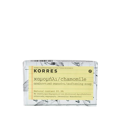 Korres Chamomile Softening Face and Body Soap 125 gr