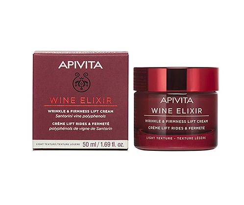 Apivita Wine Elixir Wrinkle & Firmness Lift Cream,Light Texture,50ml