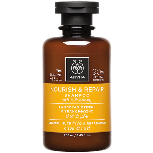 ApivitaNourish & Repair Shampoowith Olive &Honey,250ml