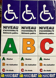 Label accessibilité handicap