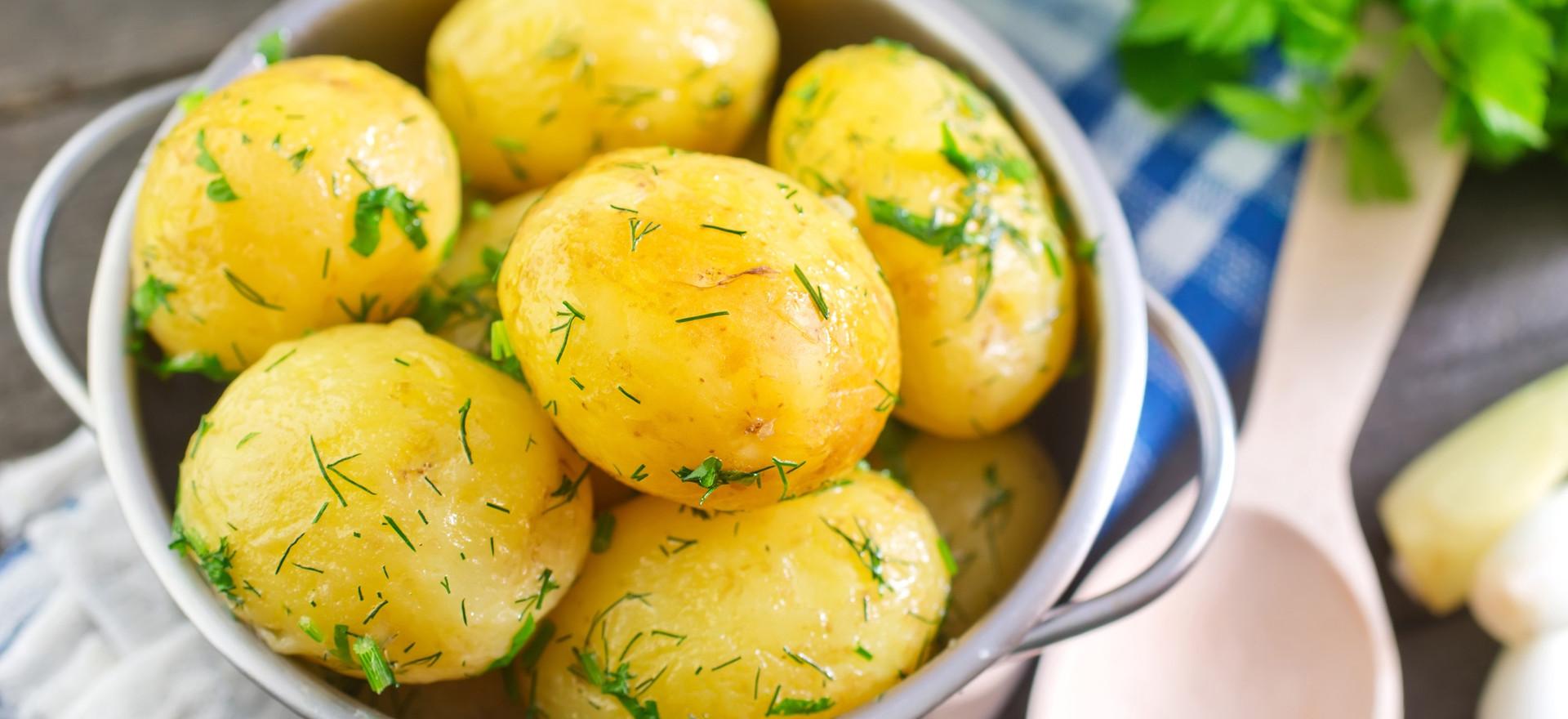 Vārīti kartupeļi (1,50 €)