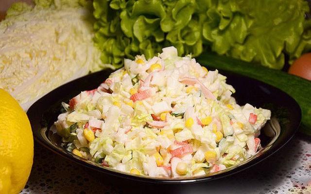 Raibie salāti (2,20 €)