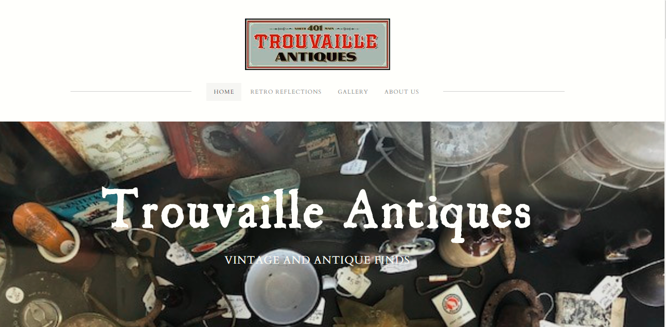 Antique Store Website