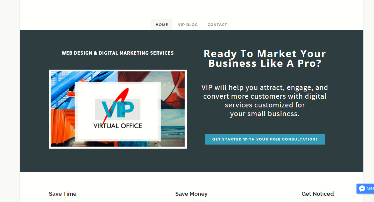 Marketing Business Website
