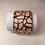 Thumbnail: Manchette 40 mm/finition dorée - Les Georgettes