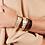 Thumbnail: Bracelet Gaya Blanc - Sable