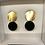 Thumbnail: Boucles NYMPHE - Modèle M / Noir velours