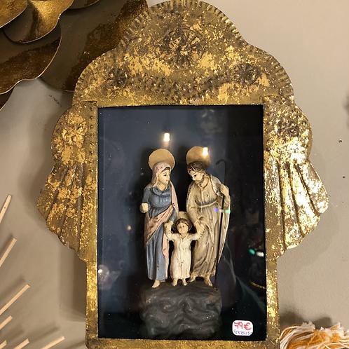 Sainte famille dans pt armoire