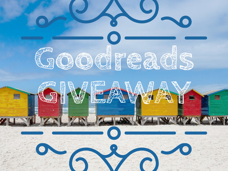🎉🎉🎉GOODREADS GIVEAWAY STARTS TODAY🎉🎉🎉