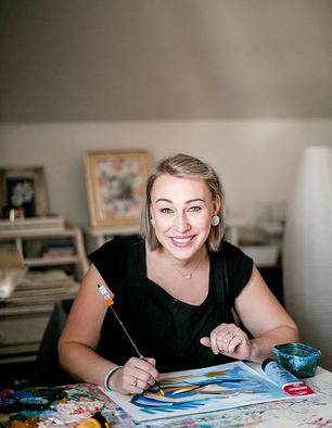 Women in Art: Jess Tinsley - Art and Healing