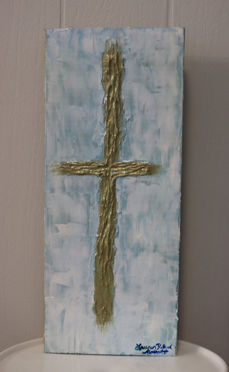 Cross Painting on Wood