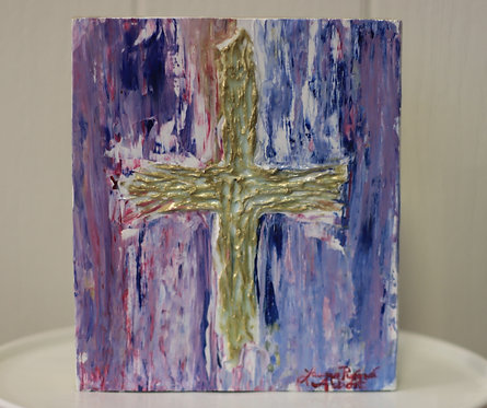 Small Cross painting