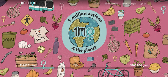 1 Million Actions 4 the Planet Campaign