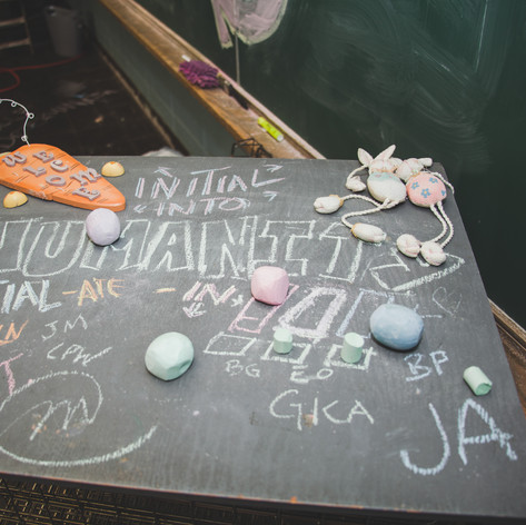 Chalk about Humanity