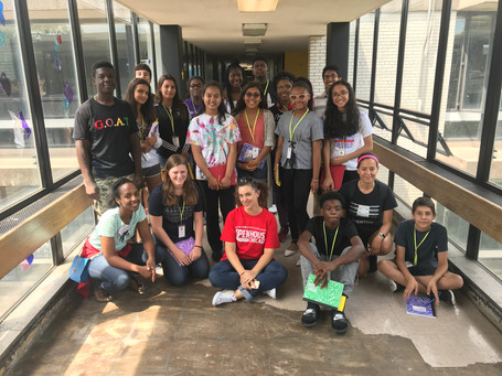 CAF Neighborhood Teen Ambassadors – Collaboration Kick-off & Visit