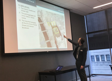 Spring 2018 — Workshop #6: The Future of Chicago Union Station