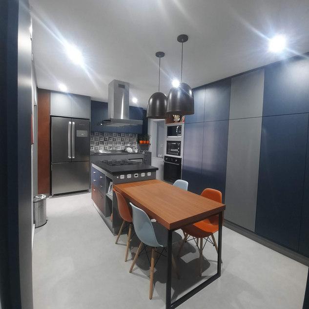Cozinha com praticidade e beleza