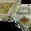 Thumbnail: Conjunto 3 Pratos Rosh Hashanah