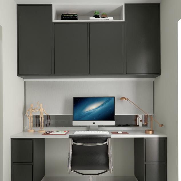 Home office com personalidade