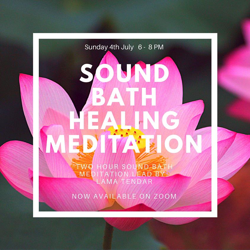 Sound Bath Healing Meditation
