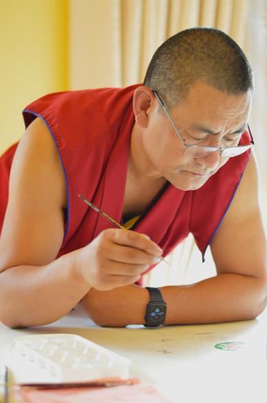 Lama Tendar - Mandala Class - Medicine Buddha Centre