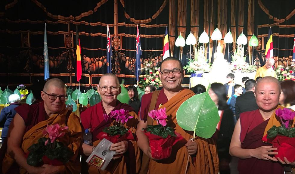 Lama Tendar and Teachers