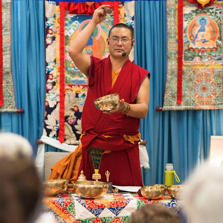 Tibetan Singing Bowl Workshop & Sound Bath Meditation