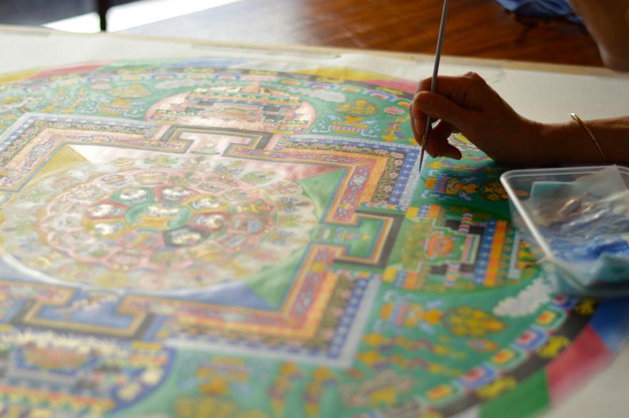 Mandala Lama Tendar - Mandala Class - Medicine Buddha Centre