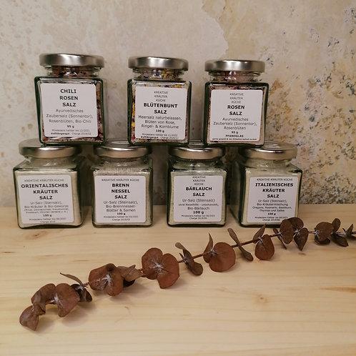 Manufaktur KräuterGrün - Blüten- und Kräutersalze