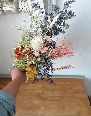 Trockenblumen-Strauß (S)