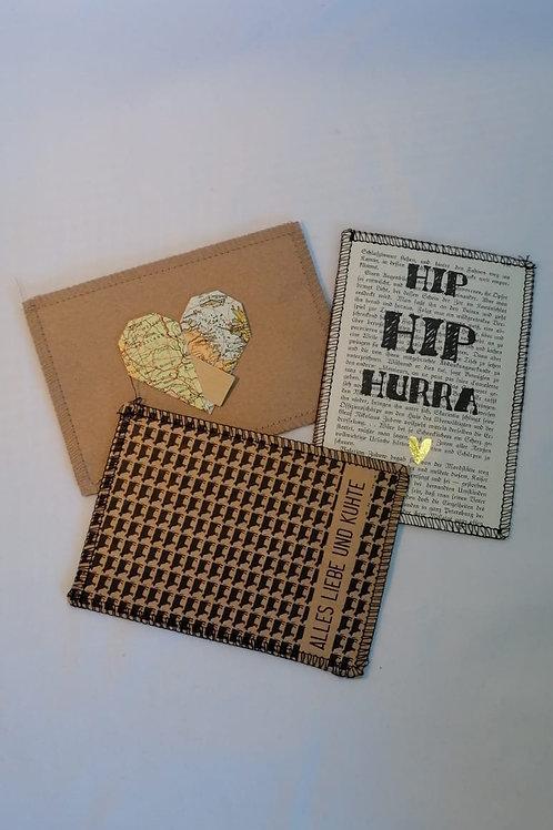 """Postkarten-Set """"Glückwunsch"""""""