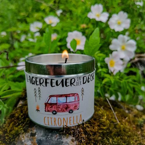 """Outdoorkerze - Lagerfeuer in der Dose """"Citronella"""""""