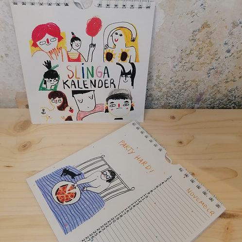 SLINGA ILLUSTRATION - Slinga-Kalender