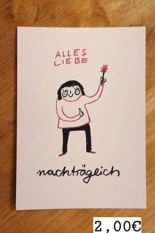 Slinga Illustration - Postkarten