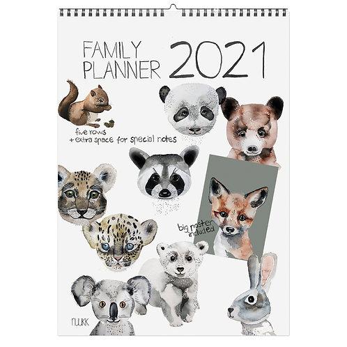 NUUKK - Familienkalender mit Poster
