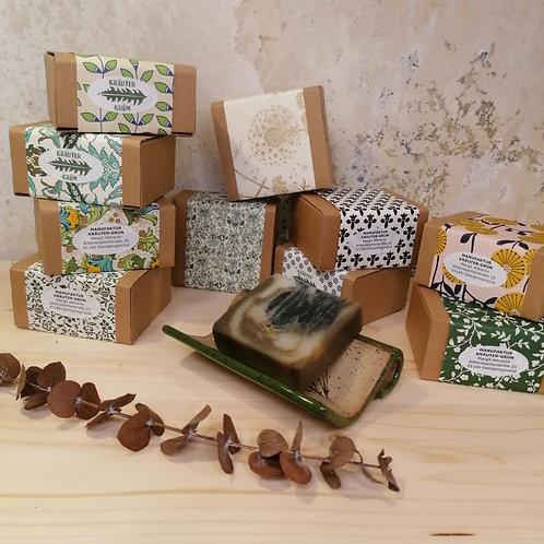 Naturseifen von Manufaktur Kräuter-Grün