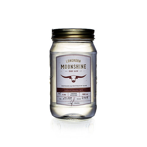 LONGHORN DISTILLERY Moonshine Dry Gin