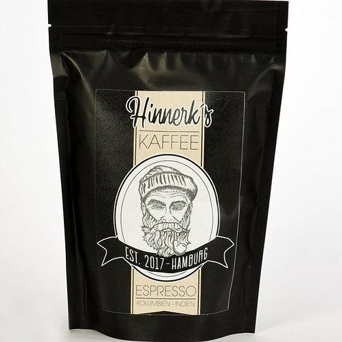 HINNERK'S Kaffee Espresso 250g