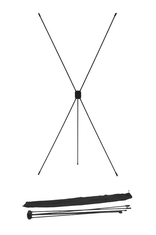 X Banner (Estructura)  60 x 160 cms