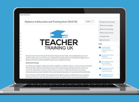 Virtual Course Starting in September 2020