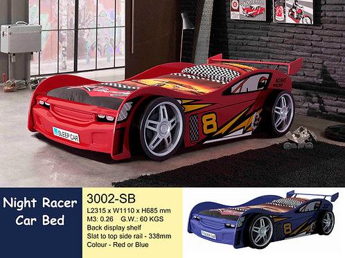 Racing No. 8 Single Bed