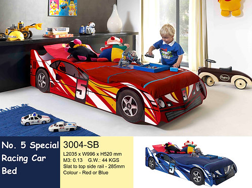 Kids No. 5 Racing Single Bed Frame