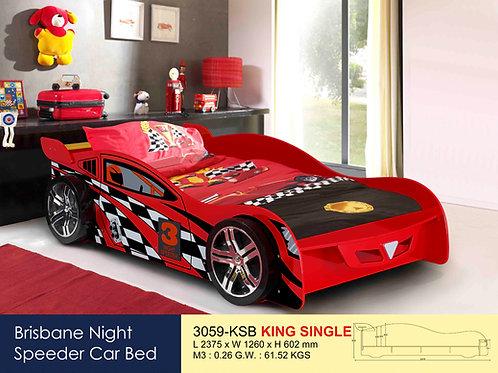 Kids No. 3 Racing King Single Bed Frame