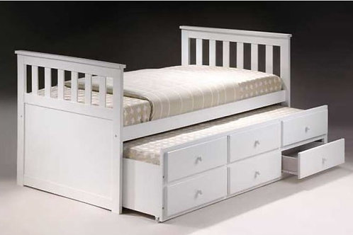 Captain King single Trundle bed
