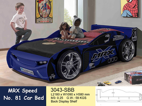 Kids MRX Racing Single Bed Frame