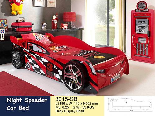 Kids No. 3 Racing Single Bed Frame