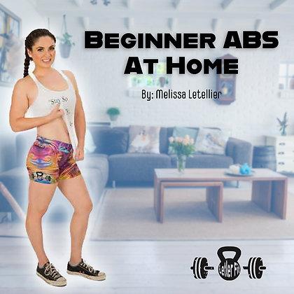 BeginnerAbs at Home