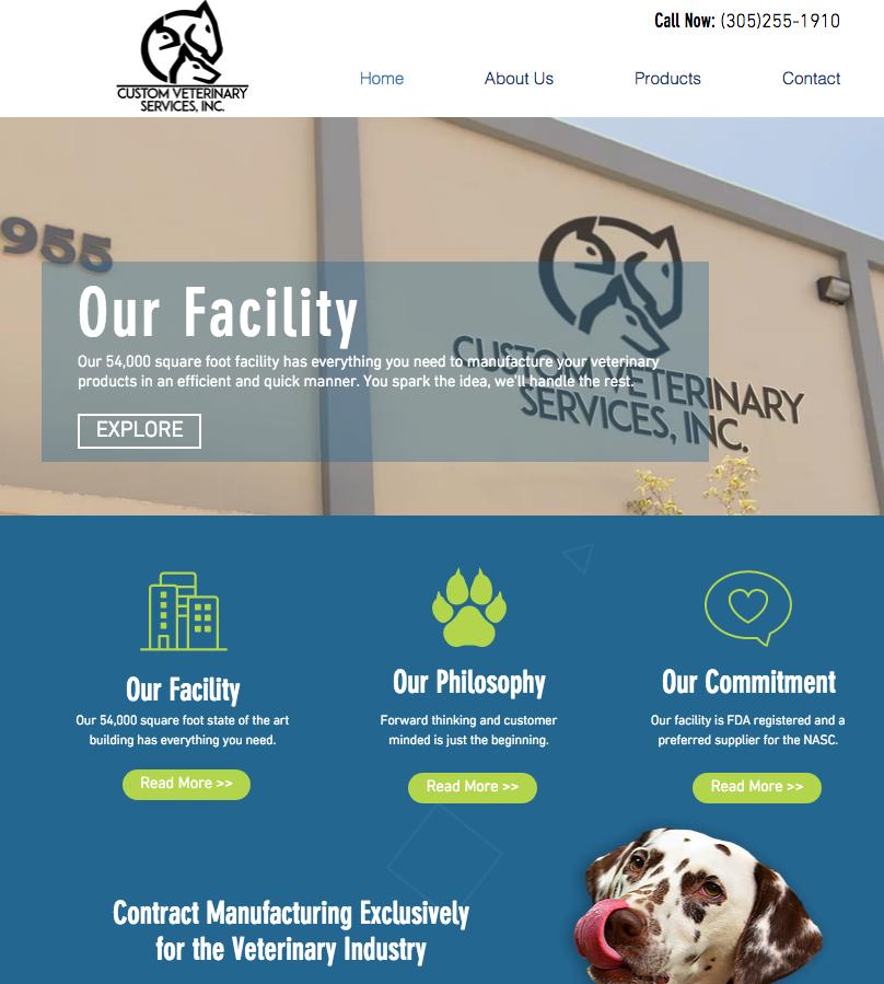 Custom Veterinary Services