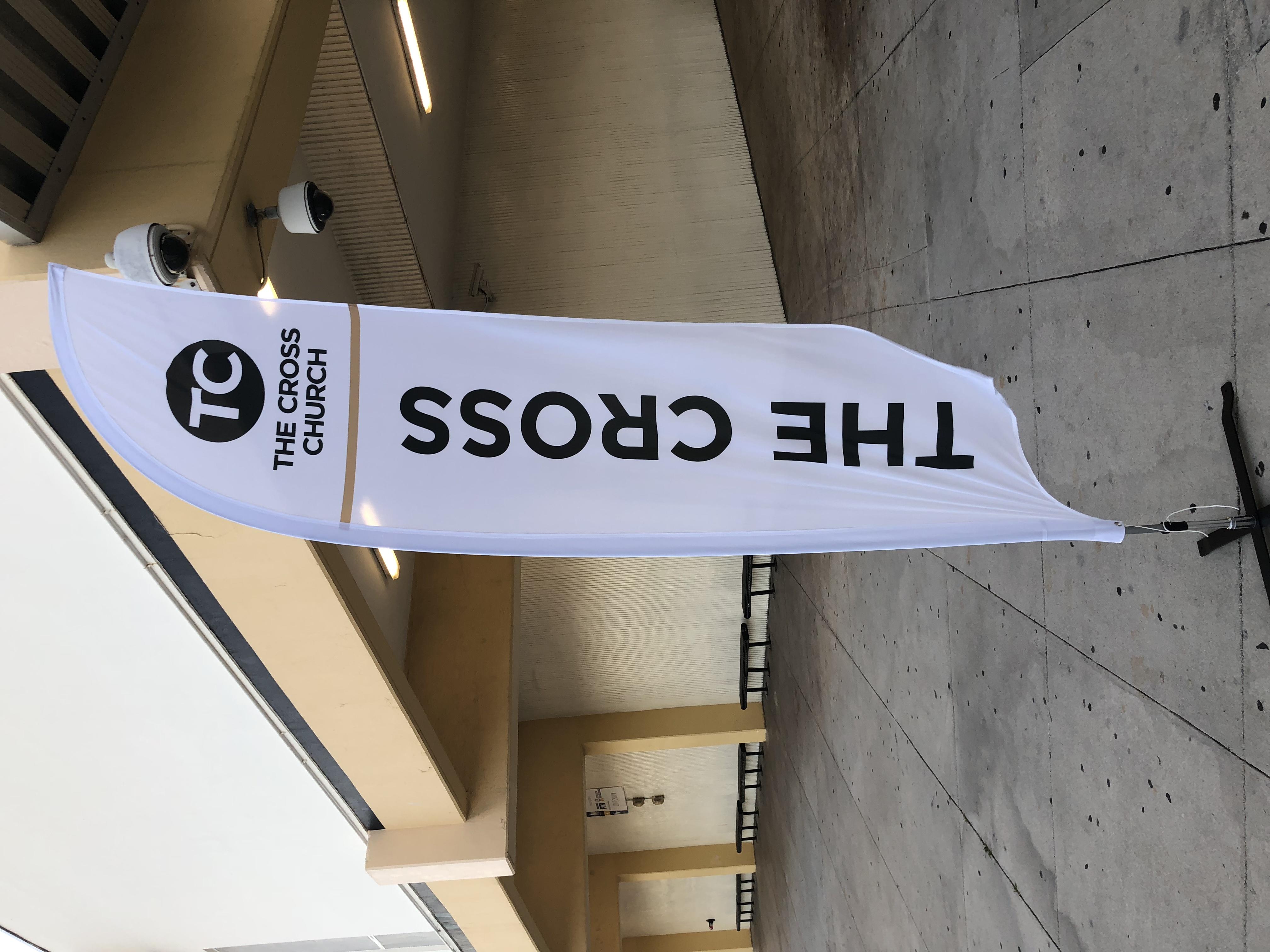 The Cross Church Banner