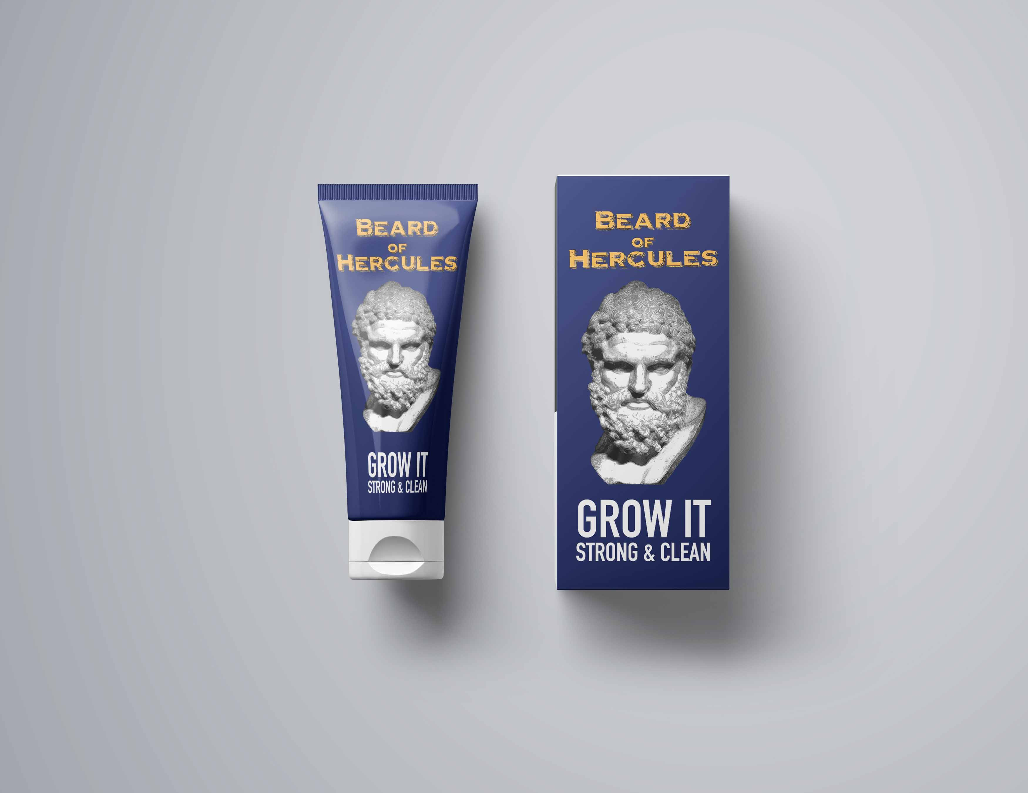 Beard of Hercules Packaging